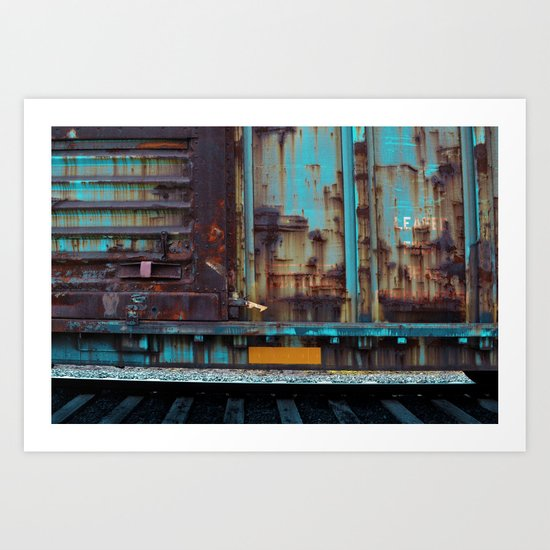 Abandon Train Art Print