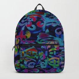 Dappled Pattern Backpack