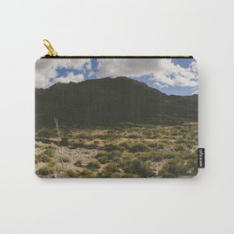 A Hike Through The Franklin Mountains Carry-All Pouch