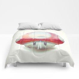 Mushroom - Kart Art Comforters