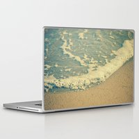 swimming Laptop & iPad Skins featuring Swimming by MundanalRuido