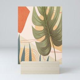 Elegant Shapes 19 Mini Art Print