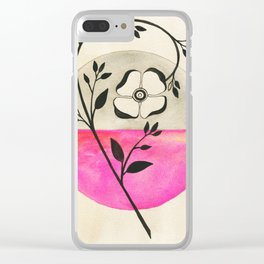Old Fashioned Rose Clear iPhone Case