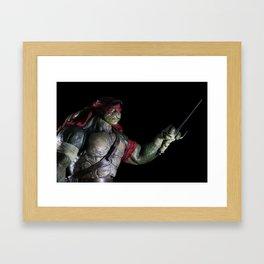 TMNT Raphael Framed Art Print