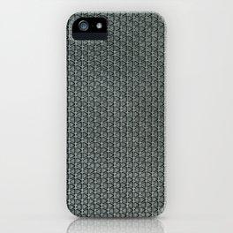 grey-pattern iPhone Case