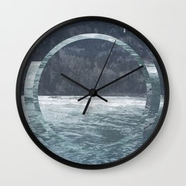 Snoho Rivrr Wall Clock