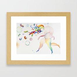 Nature/Nurture Framed Art Print