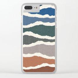Torn Clear iPhone Case