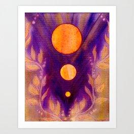 Captured Spirit Art Print