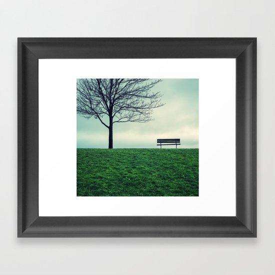Park Simplicity Framed Art Print