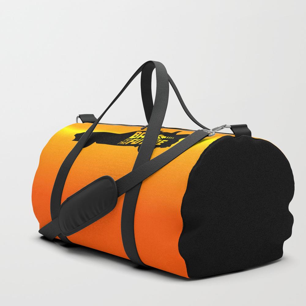 Back To The Future, Delorean, 30th Anniversary, 19… Duffle Bag by Joaojr DFL3833452