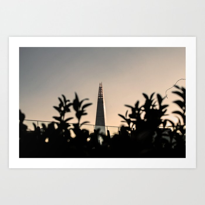 ArtWork London UK The Shard Canon Photo Art Art Print