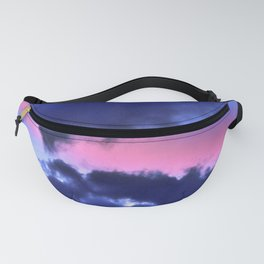 Clouds - Twilight Summer #1 #sunset #decor #art #society6 Fanny Pack