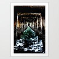 Solid Path Art Print