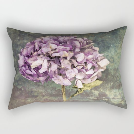 Beautiful Hydrangea Rectangular Pillow