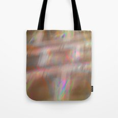 Holographic pattern Tote Bag