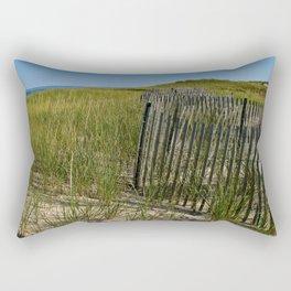 Cape Cod Beach Dunes Rectangular Pillow