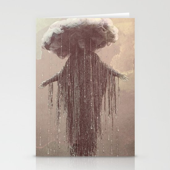 storm lady Stationery Cards