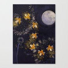 Dance of the Fireflies Canvas Print