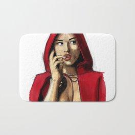 Monica Bellucci - Little Red Riding Hood 2 Bath Mat