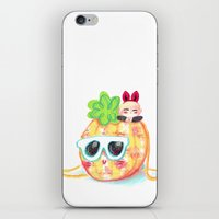 shinee iPhone & iPod Skins featuring SHINee Pinee Onew by sophillustration