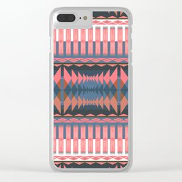 Indian Designs 279 Clear iPhone Case