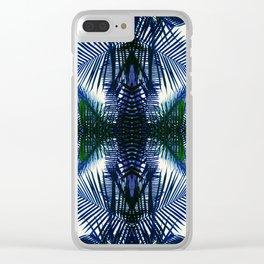 Pattern Fern Clear iPhone Case