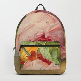 "George Jacobus Johannes van Os ""Floral Still Life"" Backpack"