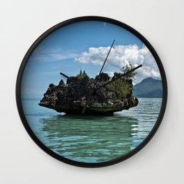 Crystal Rock, Mauritius Wall Clock