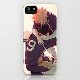 his anchor  iPhone Case