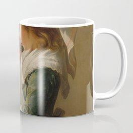 Elisabeth Louise Vigée Le Brun - Looking in a Mirror Coffee Mug
