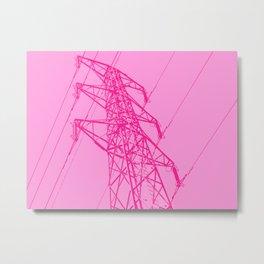 Power line 3 Metal Print