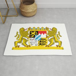 Bavaria coat of arms Rug