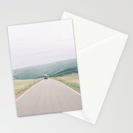 Vanlife in Europe - Camper van on the road in France | Wanderlust travel photography photo print Stationery Cards