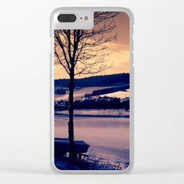 Seascape Clear iPhone Case