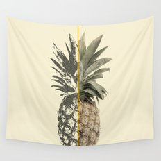 Double Pineapple Wall Tapestry