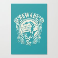 Urban monkey Canvas Print