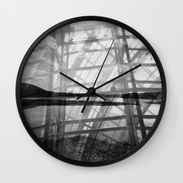Caged Potomac Wall Clock