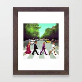 HIPSTORY - Come Together Framed Art Print
