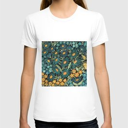 Watercolor . Chamomile field. 2 T-shirt