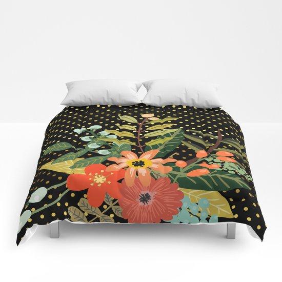 Flowers Bouquet #9 Comforters