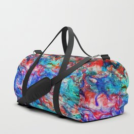 Fluid Abstract 22 Duffle Bag