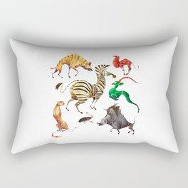 African animals 2 Rectangular Pillow