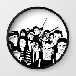 Ancient souls Wall Clock