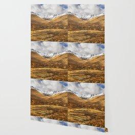 Golden Valley. Wallpaper