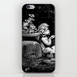 The cherub and the mice iPhone Skin