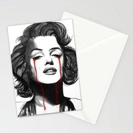 Marylin Monroe Cry Stationery Cards