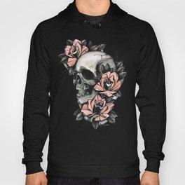 Skull and roses - tattoo Hoody
