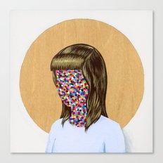 6x6 Woman Canvas Print