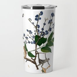 Monkey World: Apy and Vinnie - White Travel Mug
